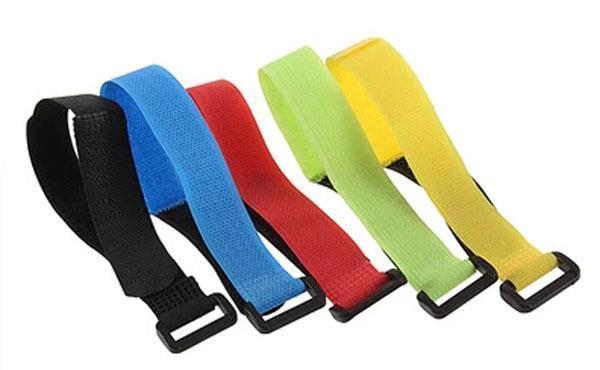 Кабельные стяжки (тайсы) липучки Hook & Loop, color 20 mm x180 mm