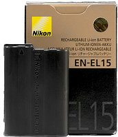 Аккумулятор Nikon EN-EL15, фото 1