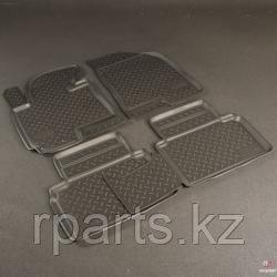 Коврики для салона Skoda Octavia A7 2013-2014.