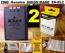 Аккумулятор Nikon EN-EL2, фото 3
