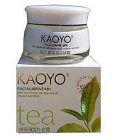 Увлажняющий крем Kaoyo, зелёный чай (60g)