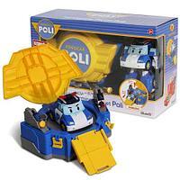 Кейс с трансформером Поли 12,5см с гаражом, Robocar Poli