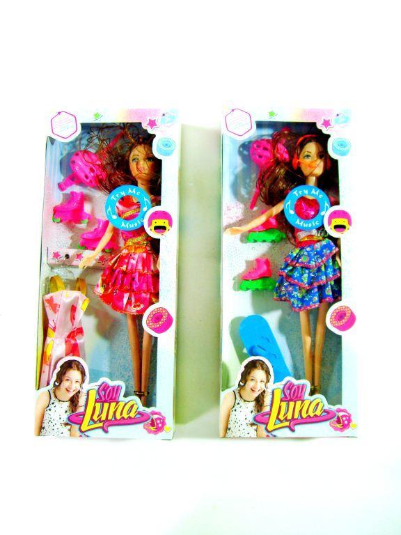 Барби с роликами