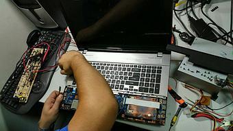 Замена клавиатуры на ноутбуке Acer v3-771. 1