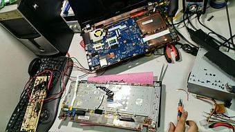 Замена клавиатуры на ноутбуке Acer v3-771. 3