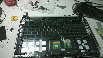 Замена клавиатуры на ноутбуке Asus vivobook s400. 3