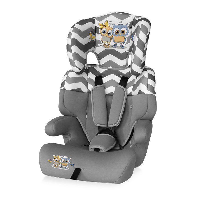 Автокресло Lorelli  Junior 9-36 кг Серый / Grey BABY OWLS 1736