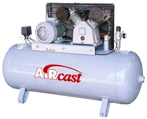 Поршневой компрессор с электродвигателем Remeza Aircast СБ4/Ф-270. LB 50