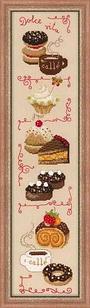 """Набор для вышивания крестом """"Dolce Vita""""  1257"""