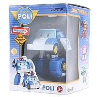 Полицейская машинка-трансформер Поли Silverlit Robocar Poli, 10 см
