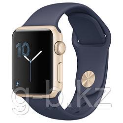 (MQ102RU/A) Смарт-часы Apple Watch S1 Sport 38mm Gold Al/Blue