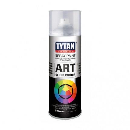 Краска Tytan Professional аэрозольная, черная матовая, фото 2