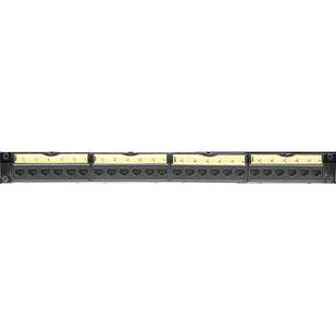33551 - Панель коммутационная Legrand, 24 порта UTP, кат.5е