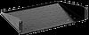 """ITK 19"""" консольная полка глубиной 280мм, 1U, черная"""