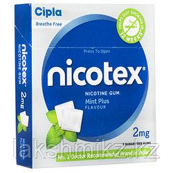Никотиновая жвачка Никотекс 2 мг (Nicotex), 9 шт