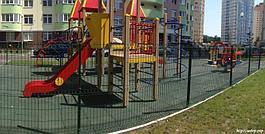 Ограждения для детских площадок  игровых зон