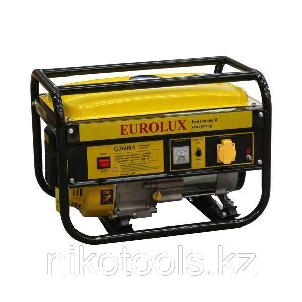 Бензиновый генератор Eurolux G 3600 A