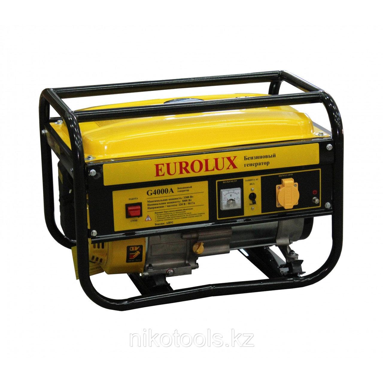 Бензиновый генератор Eurolux G 4000 A