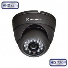 Антивандальная мультигибридная видеокамера MATRIX MT-DG720AHD20