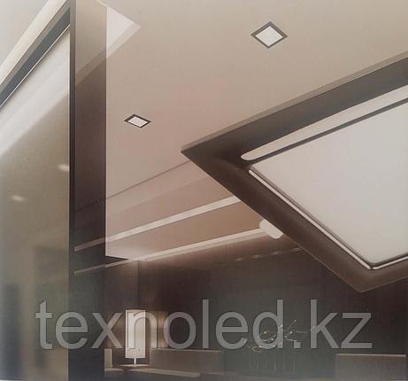 Светодиодный спот 9W  квадрат,черный, фото 2