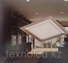 Светодиодный спот 12W  квадрат,черный, фото 2