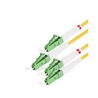 Патч Корд Оптоволоконный LC/APC-LC/APC SM 9/125 Duplex 2.0мм 1 м