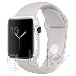 (MNPF2RU/A) Смарт-часы Apple Watch Edition 38mm WhCer/ClSport Band
