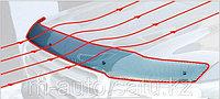 Мухобойка /дефлектор капота на Audi Q5Ауди Q5