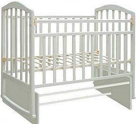 Кроватка для новорожденных Антел Алита-3 (белый)