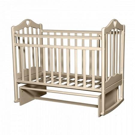 Кроватка для новорожденных Антел Каролина-3 (слоновая кость)