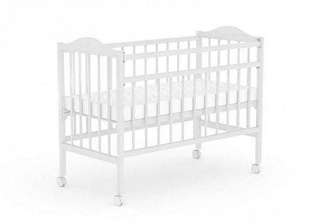 Кровать детская для новорожденных Фея 203 (белый)