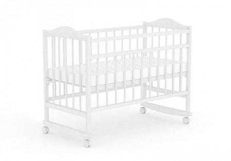 Кровать детская для новорожденных Фея 204 (белый)