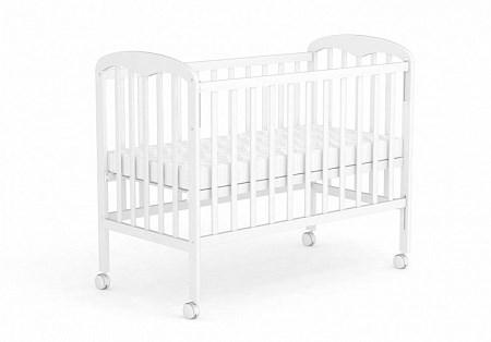 Кровать детская для новорожденных Фея 323 (белый)