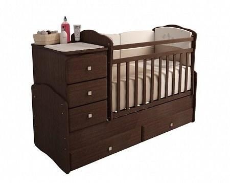 Детская кровать трансформер Фея 2150 (Классика - Венге)