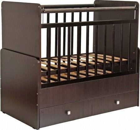 Детская кровать трансформер Фея 720 (венге)