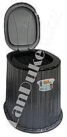Стульчак для уличного туалета серый 09045