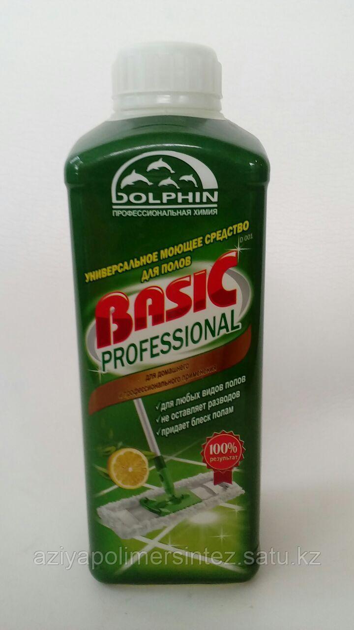 Концентрированное средство для мытья полов - Dolphin Basic 1 литр