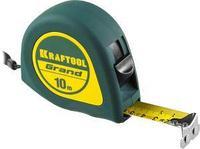 Рулетка KRAFTOOL GRAND, обрезиненный пластиковый корпус, 10м/25мм, фото 1