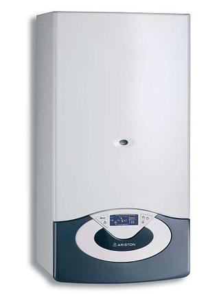 Настенный конденсационный газовый двухконтурный котёл Ariston GENUS PREMIUM EVO HP 45, 45 кВт, (без дымохода), фото 2