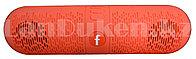 Колонка беспроводная стерео bluetooth-спикер для смартфонов и портативных пк (красная)