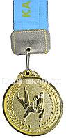 """Медаль рельефная """"Дзюдо"""" (золото)"""