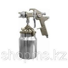 Краскопульт пневматический, HVLP, алюминиевый нижний бачок 1000 мл, 1.5 мм