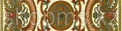 Керамическая плитка GRACIA Triumph beige border 01(250*65)