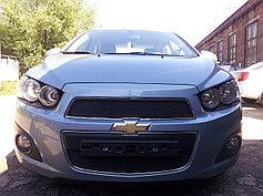 Защитно-декоративные решётки радиатора Chevrolet Aveo