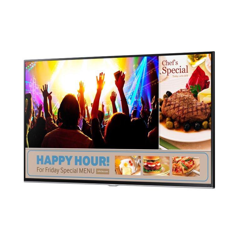 Профессиональный дисплей Samsung  SMART Signage TV, LH40RMDELGW/RU