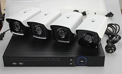 Комплект видеонаблюдения с подключением по технологии PLC! «Сделай сам»