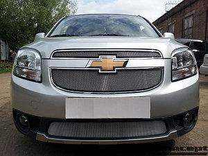 Защита радиатора Chevrolet Orlando chrome середина
