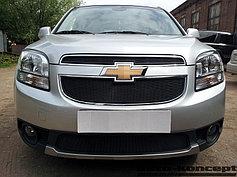 Защитно-декоративные решётки радиатора Chevrolet Orlando