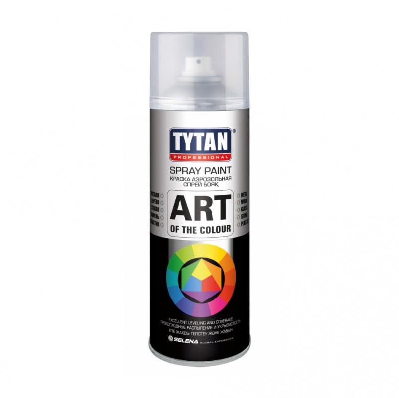 Краска Tytan Professional аэрозольная, белая глянцевая