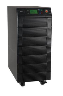 Модульный трехфазный ИБП Tripp Lite семейства SmartOnline мощностью 20 кВА / 16 кВт, SU20KX
